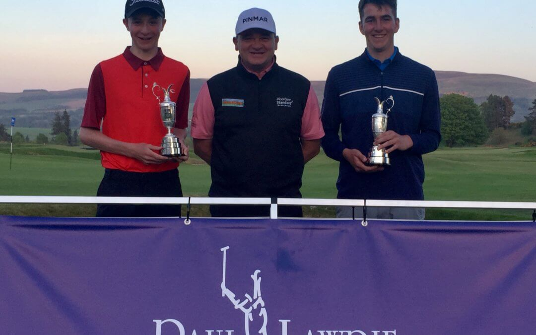 Paul Lawrie Foundation Junior Jug 2018