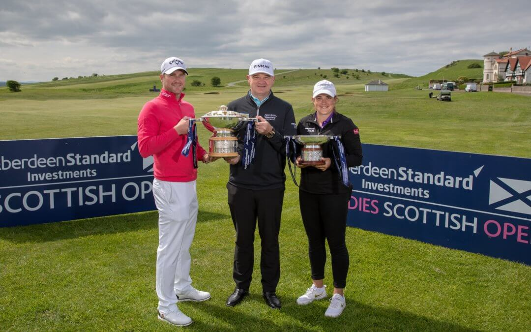 Aberdeen Standard Investments Scottish Open – Media Day