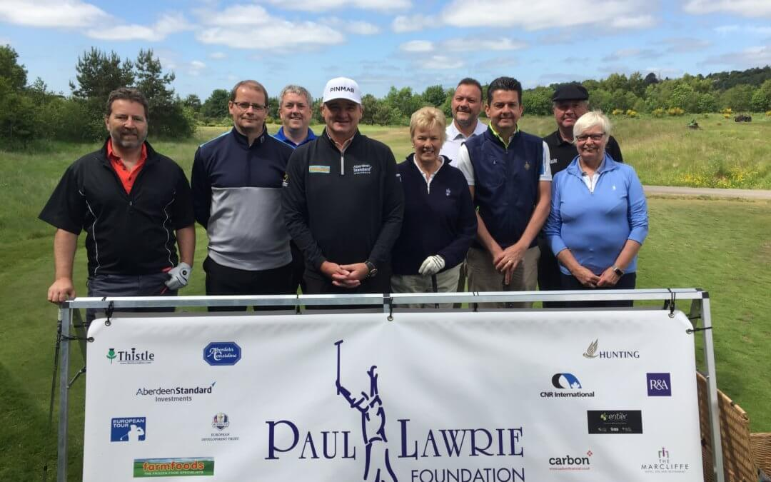 Paul Lawrie Foundation Sponsors' Day PLGC